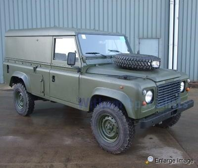 Land Rover , Defender 110 Hardtop LHD, #40229 - MOD Sales, Military Vehicles & Used Ex MOD Land Rovers for Sale