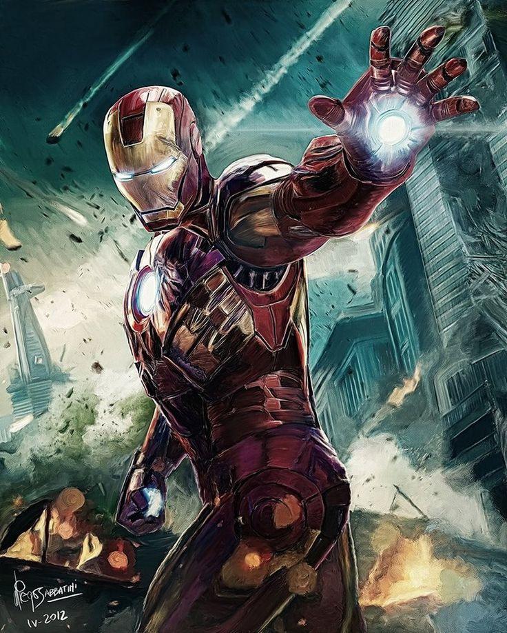 Iron Man | The Avengers (fan art)