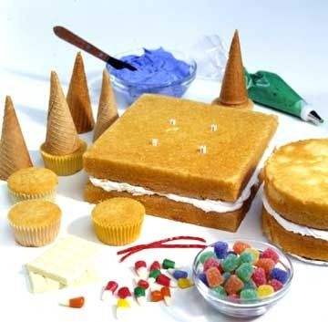Castle cake how to