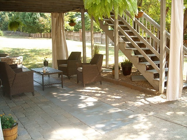 17 best images about deck remodeling on pinterest for Under porch ideas