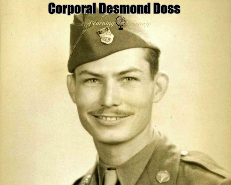 Corporal Desmond Doss:  World War II via @learninghistory