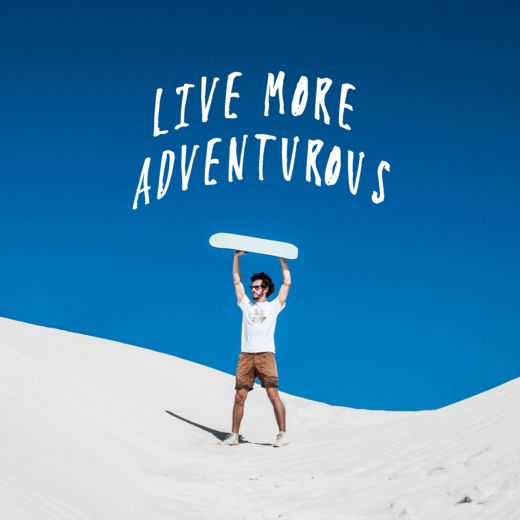 Don't be afraid to live more adventurous because life is short. So spice it up with Meat Factory Clothing ;)