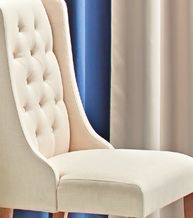 Tufted Sleigh-Side Chairs from The Christmas Tree Shops $89.99