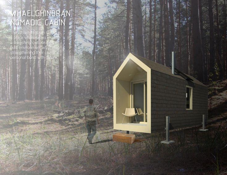 014 - Whaelghinbran Nomadic Cabin | Community Forests International
