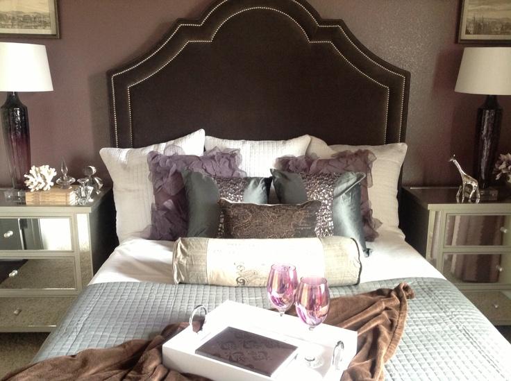 Luxury 1 Bedroom Apartment Model: Bedroom