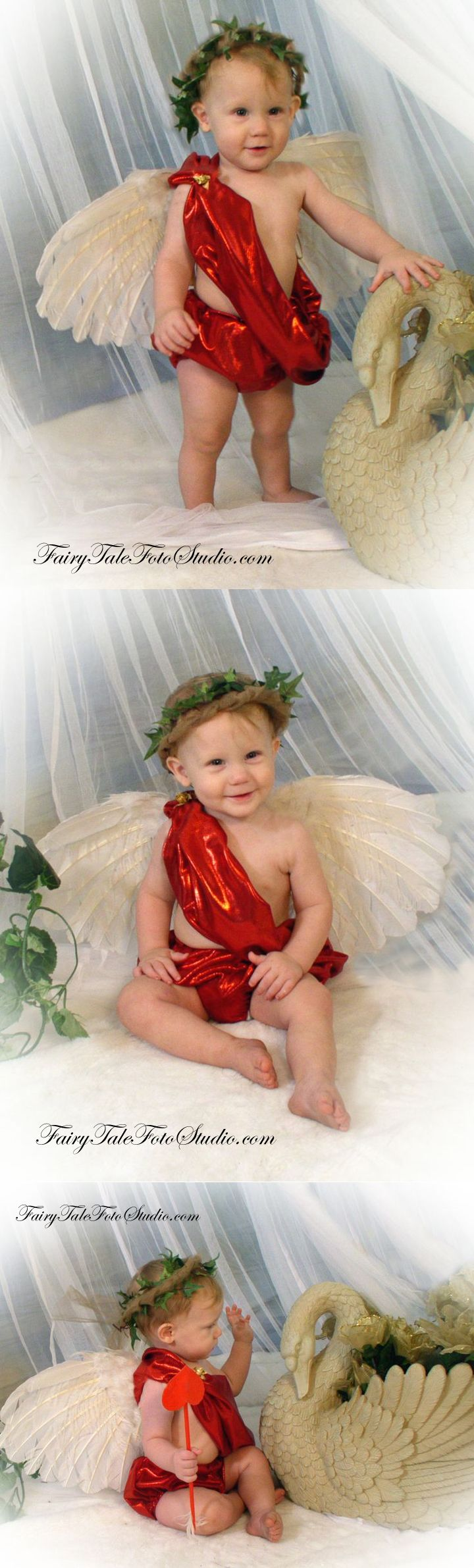 how to make a cupid costume