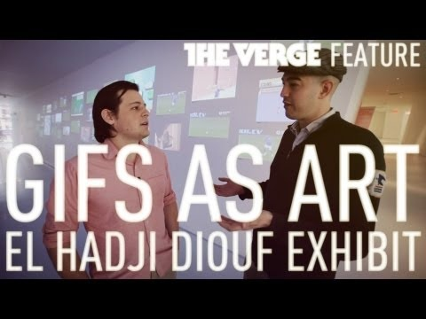 GIFs as art: We Tripped El Hadji Diouf exhibit at Museum of the Moving Image