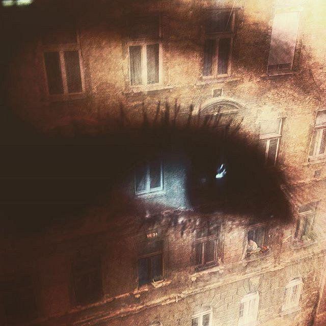 Eye meets Windows  double exposure #doubleexposure #multiexposure #multipleexposure #eye #windows #building #budapest #Hungary #lucyliu #dxe #dxp #twocitiesbudapest #craighullphoto #doubleexposeeurope