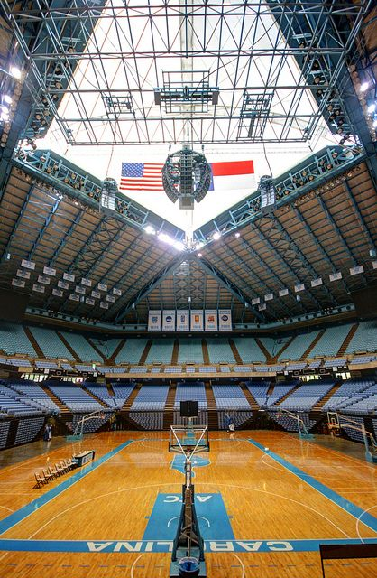 Dean E. Smith Center. Chapel Hill, N.C. University of North Carolina.