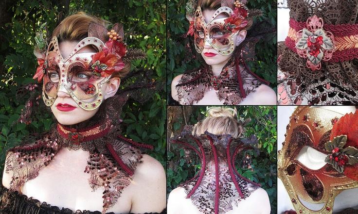 Autumn Countess Mask