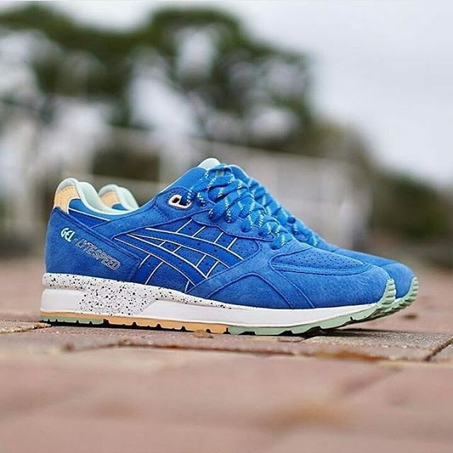 Asics Gel Lyte Speed turquesa