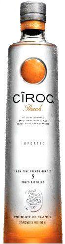 Ciroc Vodka Peach 1.75 by Ciroc #ciroc #cirocvodka #vodka