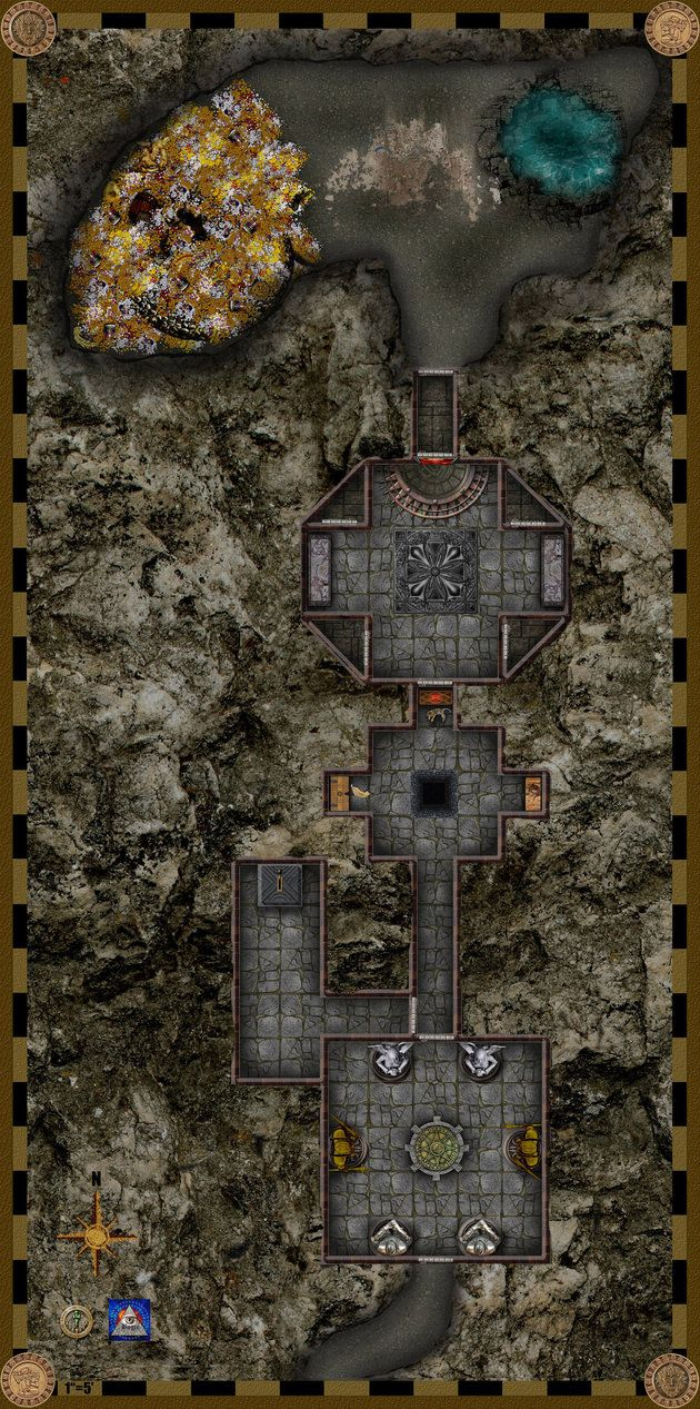 Dead Dragon's Treasure based on the 5 Room Dungeon concept The great dragon Artogra left ...