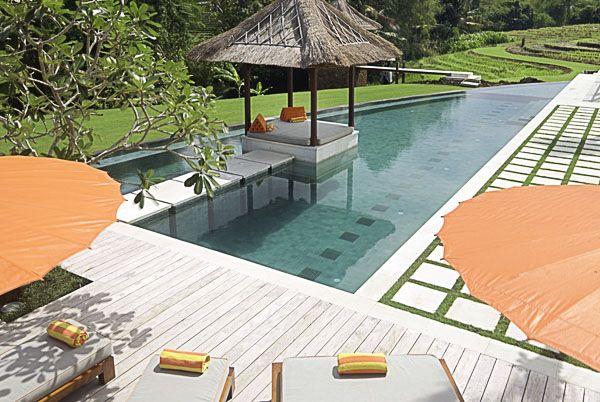 Villa Puri Bawana Pool Wide Afternoon