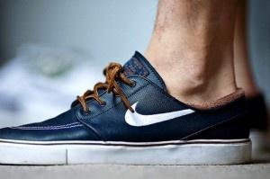 Nike SB Stephan Janoski en edición limitada de cuero.  #wearbambas #moda http://www.wearbambas.com