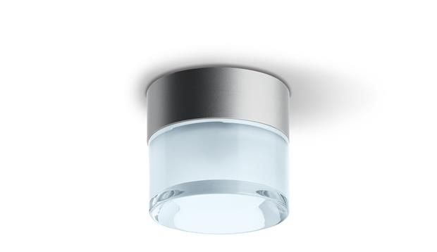 iGuzzini Cup Ceiling-mounted. Die-cast aluminium body; thick, transparent pressed glass with an internal satin finish. High level of light output. www.ladgroup.com.au