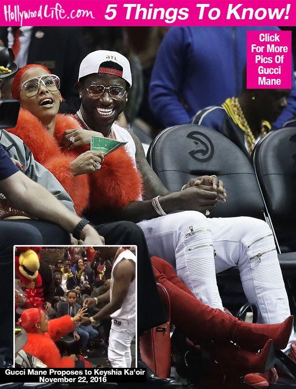 Keyshia Ka'oir: 5 Things To Know About Gucci Mane's New Fiancee