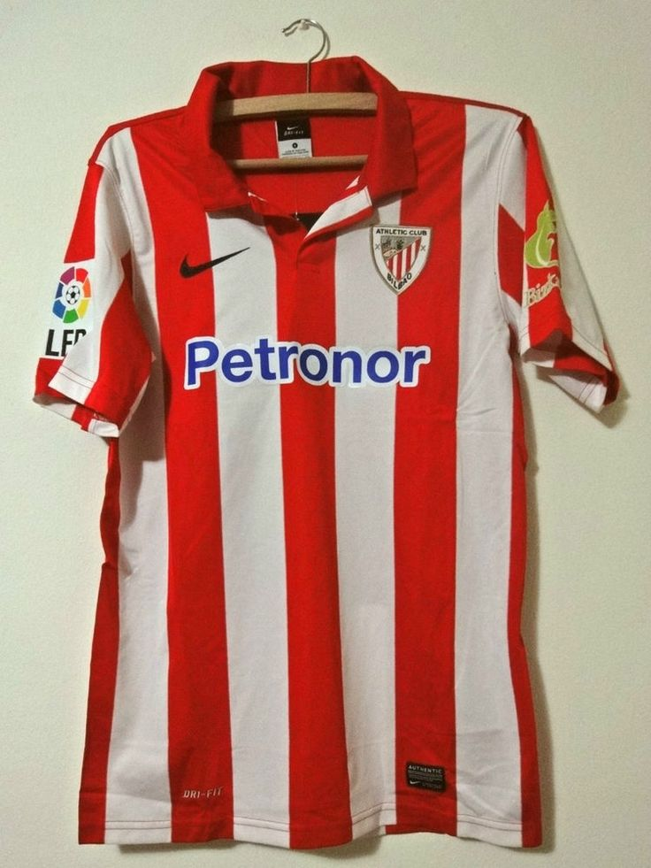 NEW Athletic Bilbao Spain La Liga shirt Nike jersey Home 2013 - 2014