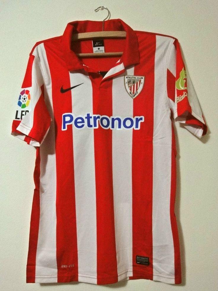 NEW Athletic Bilbao Spain La Liga shirt Nike jersey Home 2013 - 2014