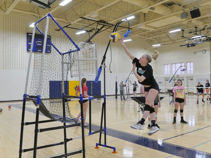 The Edge Pro Volleyball Trainer Is A Great Piece Of Volleyball Training Equipment For In Volleyball Training Volleyball Training Equipment Volleyball Equipment