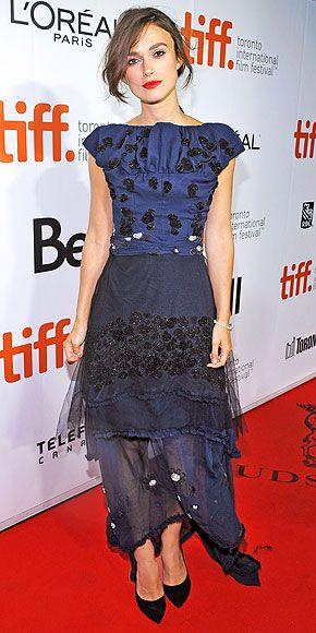 Keira Knightley, Michael van der Ham, 'Laggies' TIFF Premiere