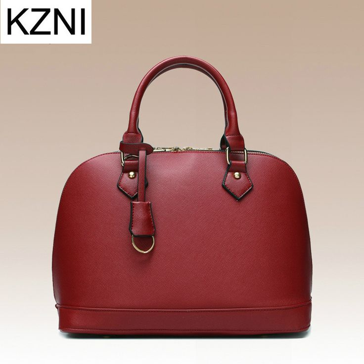 KZNI luxury handbags women bags designer genuine leather bags ladies hand bags luxe handtassen vrouwen tassen designer L010101
