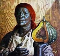 Tretchikoff The Pumpkin Seller