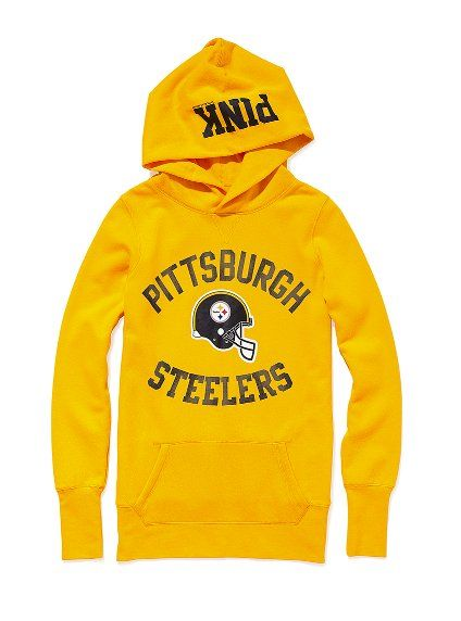 Victoria's Secret NFL Collection-Pittsburgh Steelers Pullover Hoodie $54.50