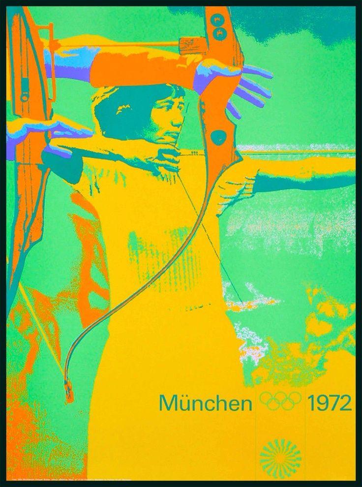otl aicher, olympische spiele münchen, 1972
