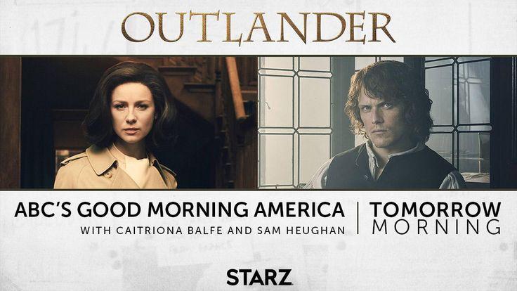 Good Morning America Tomorrow : Best outlander images on pinterest