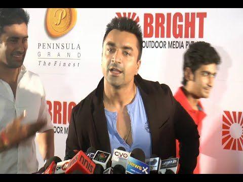 Ajaz Khan at the red carpet of Bright Awards 2014.