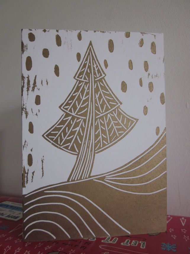Christmas Tree Card £2.50