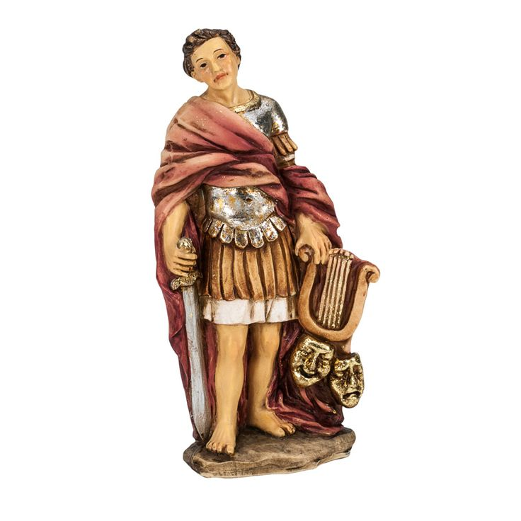 """Celebrate the patron saint of theater and those in acting, Saint Genesius, 4"""""""