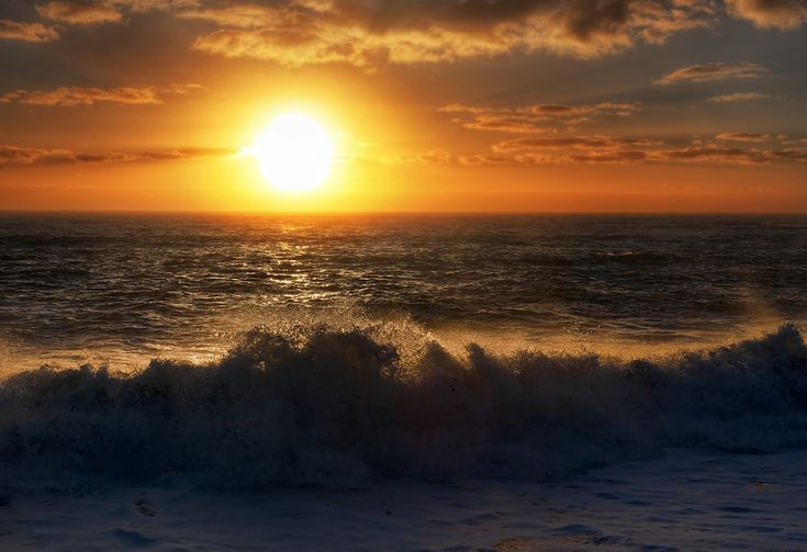 In this photo of the sunset over the Tasman Sea, off the coast of New Zealand, I did take 7 exposures form +3 to -3.  Whenever you aim the camera right into the sun, you need to expose even more range than normal.  - West Coast, New Zealand  - Photo from #treyratcliff Trey Ratcliff at http://www.StuckInCustoms.com