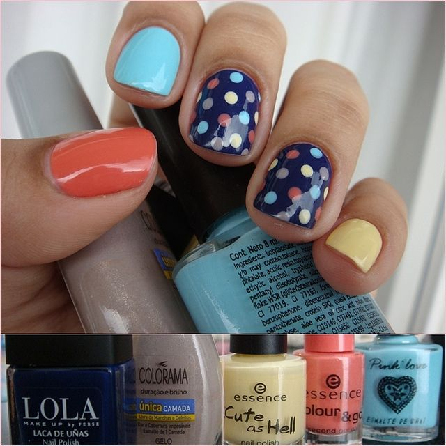 Summer nails  #WetSealSummer #Contest  Follow us on #facebook:  https://www.facebook.com/WestfieldGalleriaatRoseville