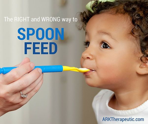 The Right And Wrong Way To Spoon Feed Oral Motor