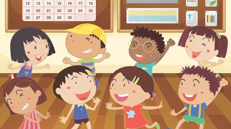 en Espanol! Head Shoulders Knees & Toes, Spanish version | Kids' Songs