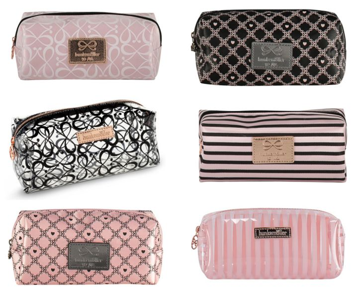 Which make-up bag is your favourite? #makeup #cosmetics #bag #hunkemöller #pink #girly #accessories #musthave #beauty
