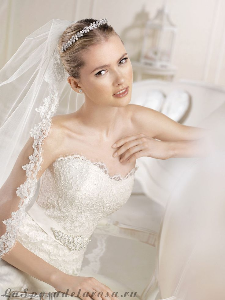 Фата San Patrick 2757 сделает невесту нежной и утонченной!)