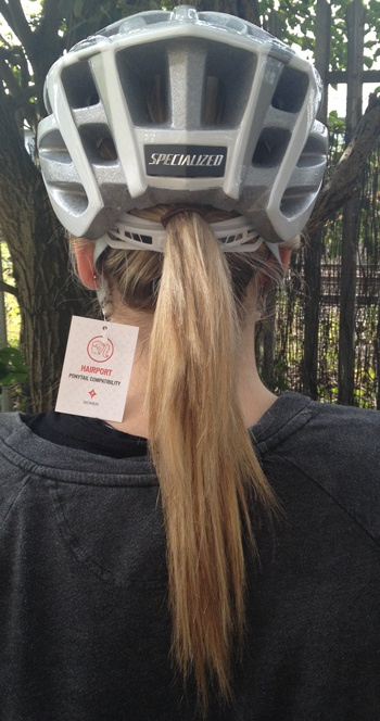 Finally… a pony tail compatible helmet! Read up about this new helmet by Specialized by clicking through on the picture! #specialized #helmet #womens