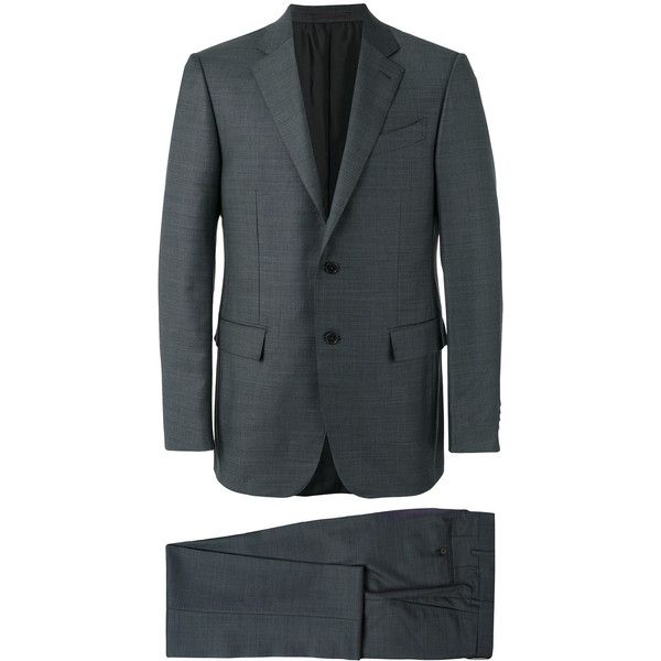 Best 25 Men 39 S Grey Suits Ideas On Pinterest Mens Fashion Suits Groom Fashion And Beard Suit