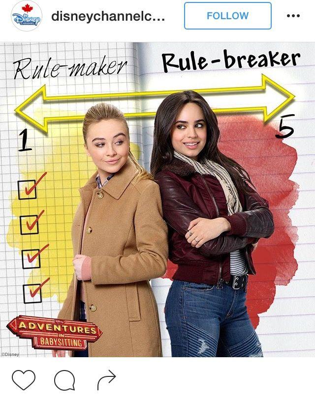 Adventures in Babysitting - Remake starring Sabrina Carpenter & Sofia CarsonWOW! I only see Sabrina like Maya and NOT a rule maker XD