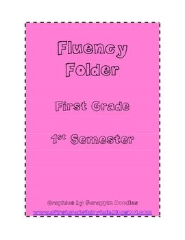 Do y'all love sending fluency folders home as much as me??? The kids love to read to their parents at night.  Fluency folders are a great way to ma...