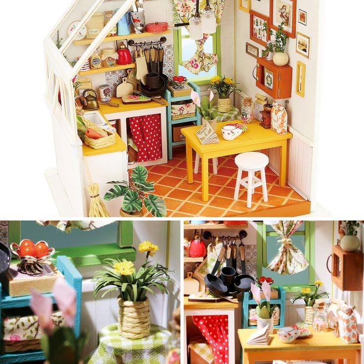 Beautiful RobotimeonlineNew Dollhouse   Jasonu0027s Kitchen By Robotime Available Now At  Robotimeu0027s Webshop. #robotime #robotimeonline #diy #minaturehouse  #dollhouse ...
