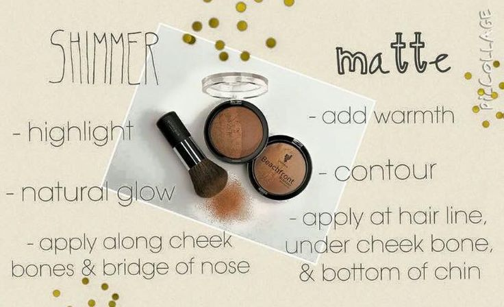Did you know Younique bronzers come with a shimmer and a matte side? Use them together or separately for your desired look.