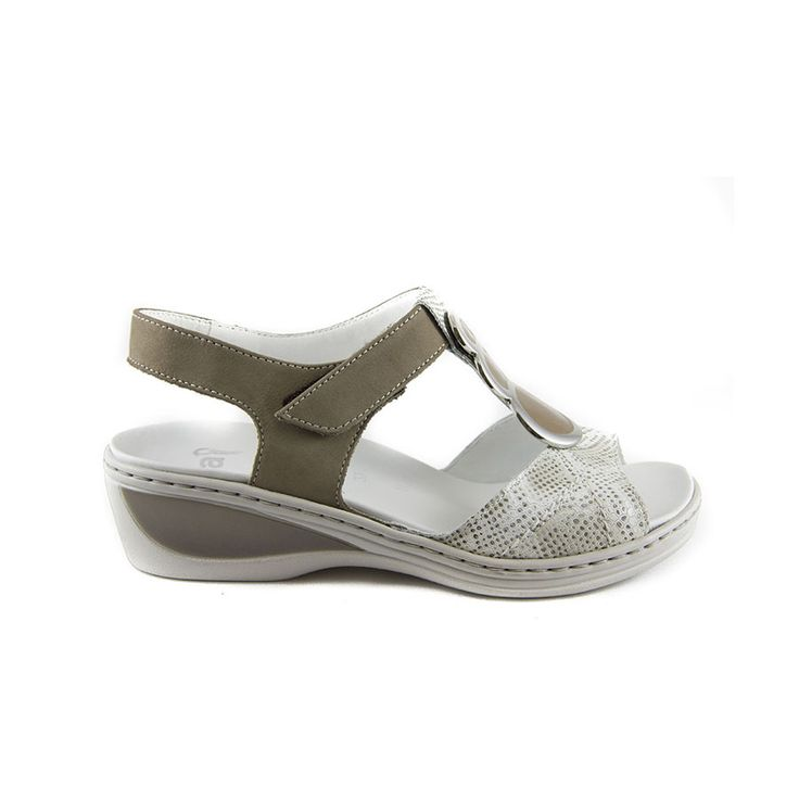 sandalia de vestir con plantilla extraíble