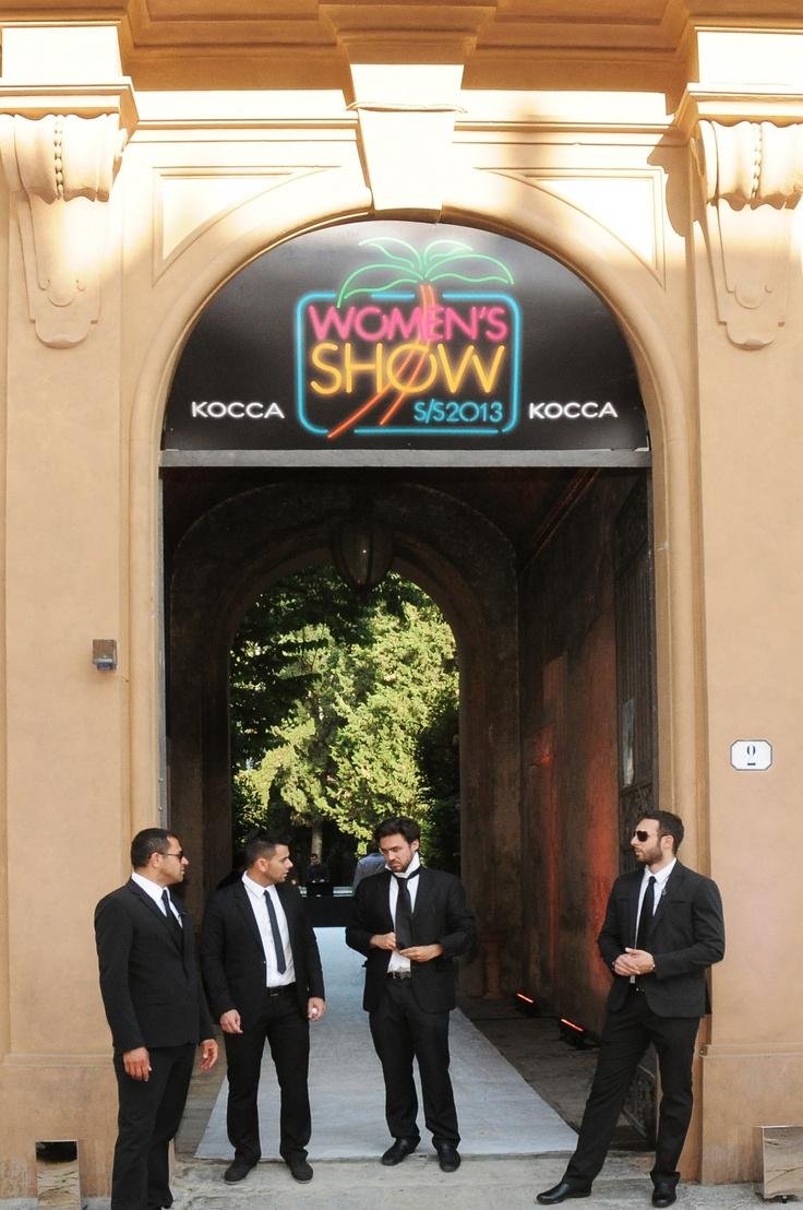 Kocca women's show in Florence. june 2012Kocca Women, June 2012