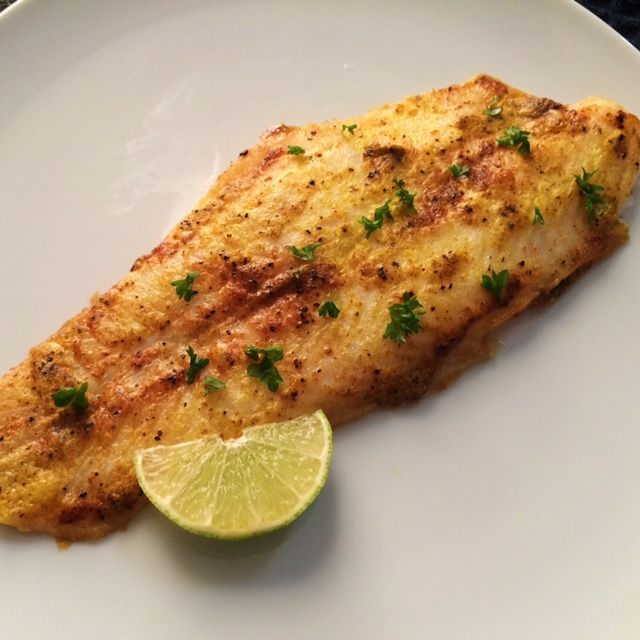 Baked Basa Fillets Recipe Main Dishes with basa fillets, eggs, lime, parsley, salt, black pepper, ground cumin, all-purpose flour, turmeric, garlic powder
