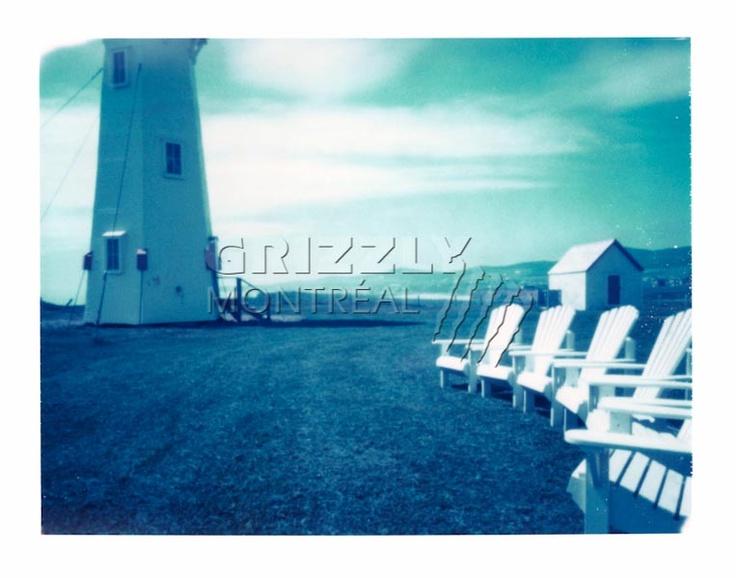 Le phare de L'Anse-à-la-Cabane