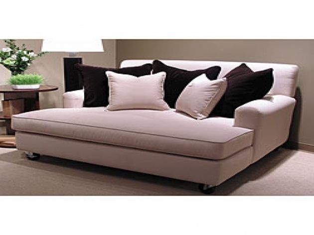 Extra Wide Chaise Lounge Couches And Love Seats Double ...